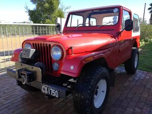 1977 Jeep CJ7 258 c.i. (4.2 L) Auto with AWD RHD For Sale