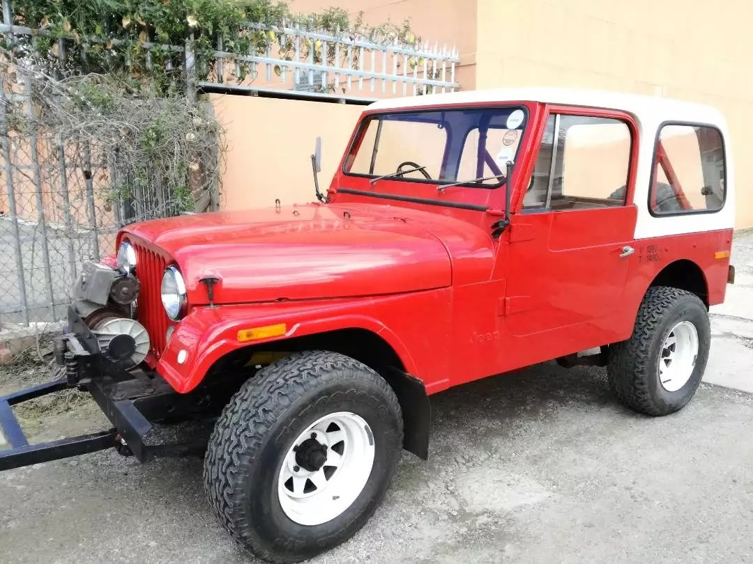 1977 Jeep CJ7 258 c.i. (4.2 L) Auto with AWD RHD For Sale (picture 6 of 6)