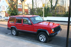2000 1995 Jeep Cherokee 4L Automatic Red