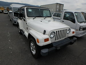 2002 Jeep Wrangler Sahara Hardtop Automatic from Japan For Sale