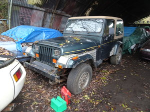 1994 jeep wrangler YJ for restoration  For Sale