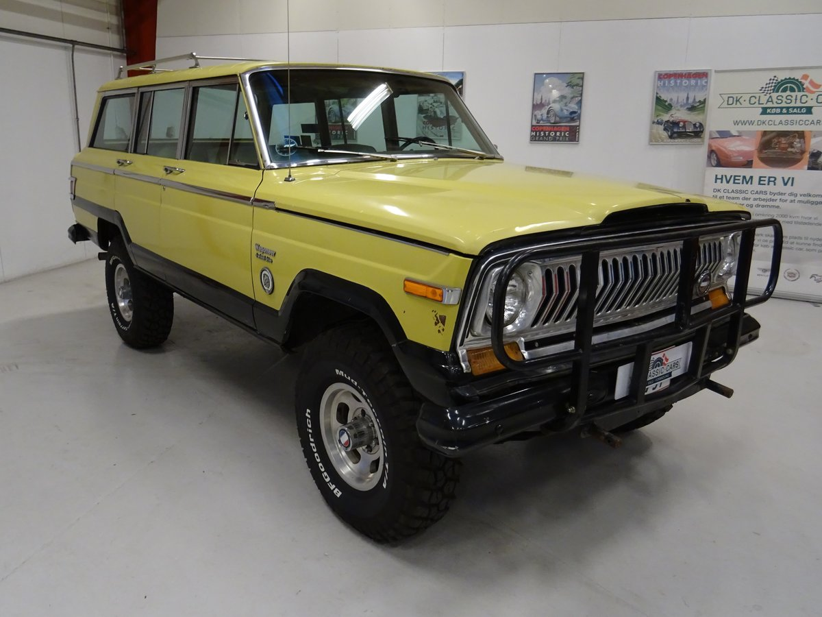 1978 Jeep Wagoneer 401 V-8 Quadra-Trac Hydra-Matic For Sale (picture 1 of 6)