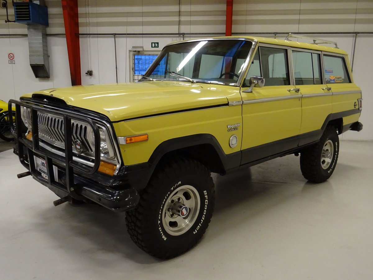 1978 Jeep Wagoneer 401 V-8 Quadra-Trac Hydra-Matic For Sale (picture 2 of 6)