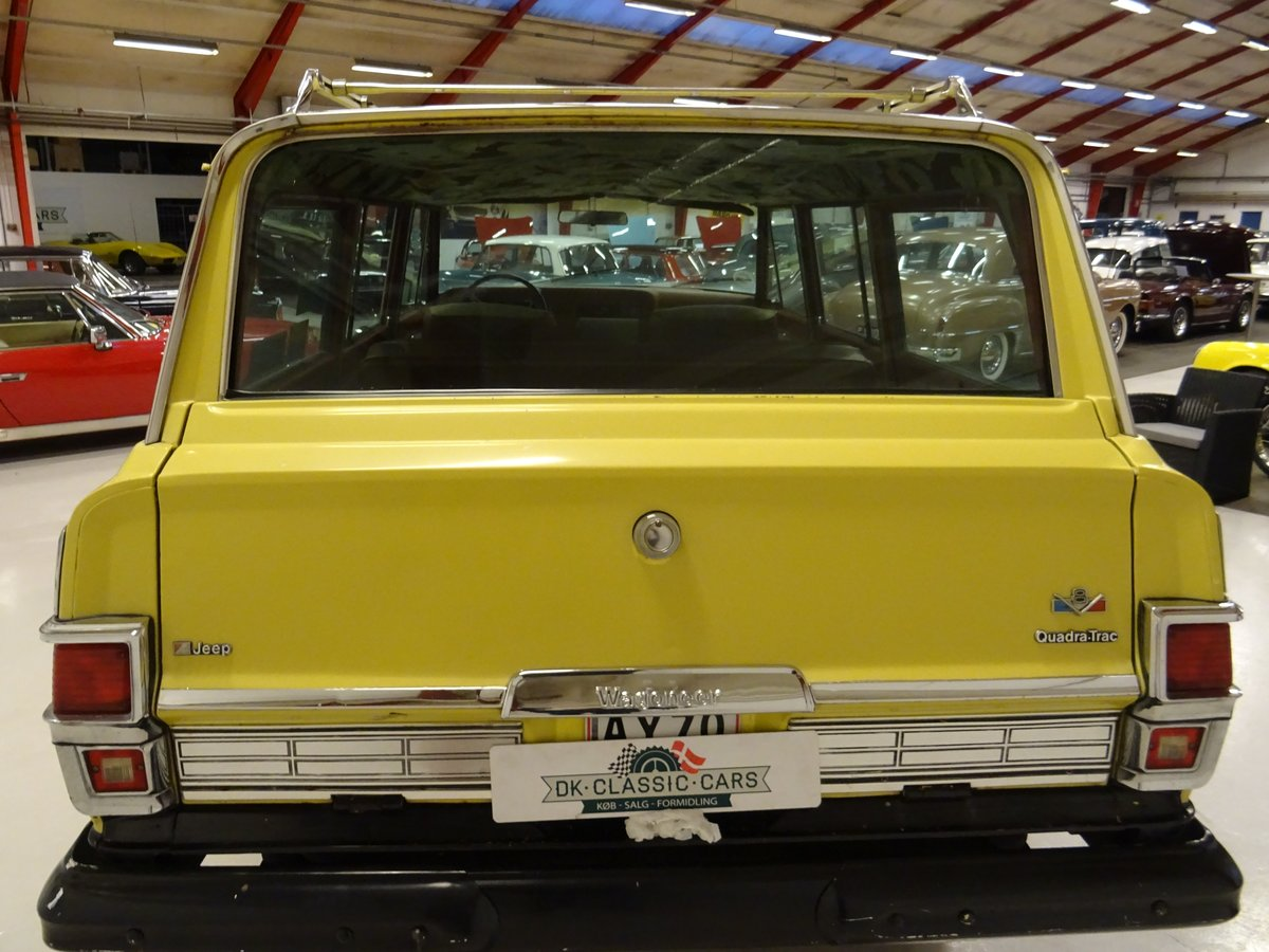 1978 Jeep Wagoneer 401 V-8 Quadra-Trac Hydra-Matic For Sale (picture 3 of 6)