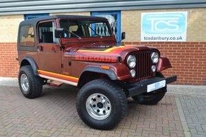 1985 Jeep Renegade CJ-7 5.8i V8 4-Speed Manual Convertible