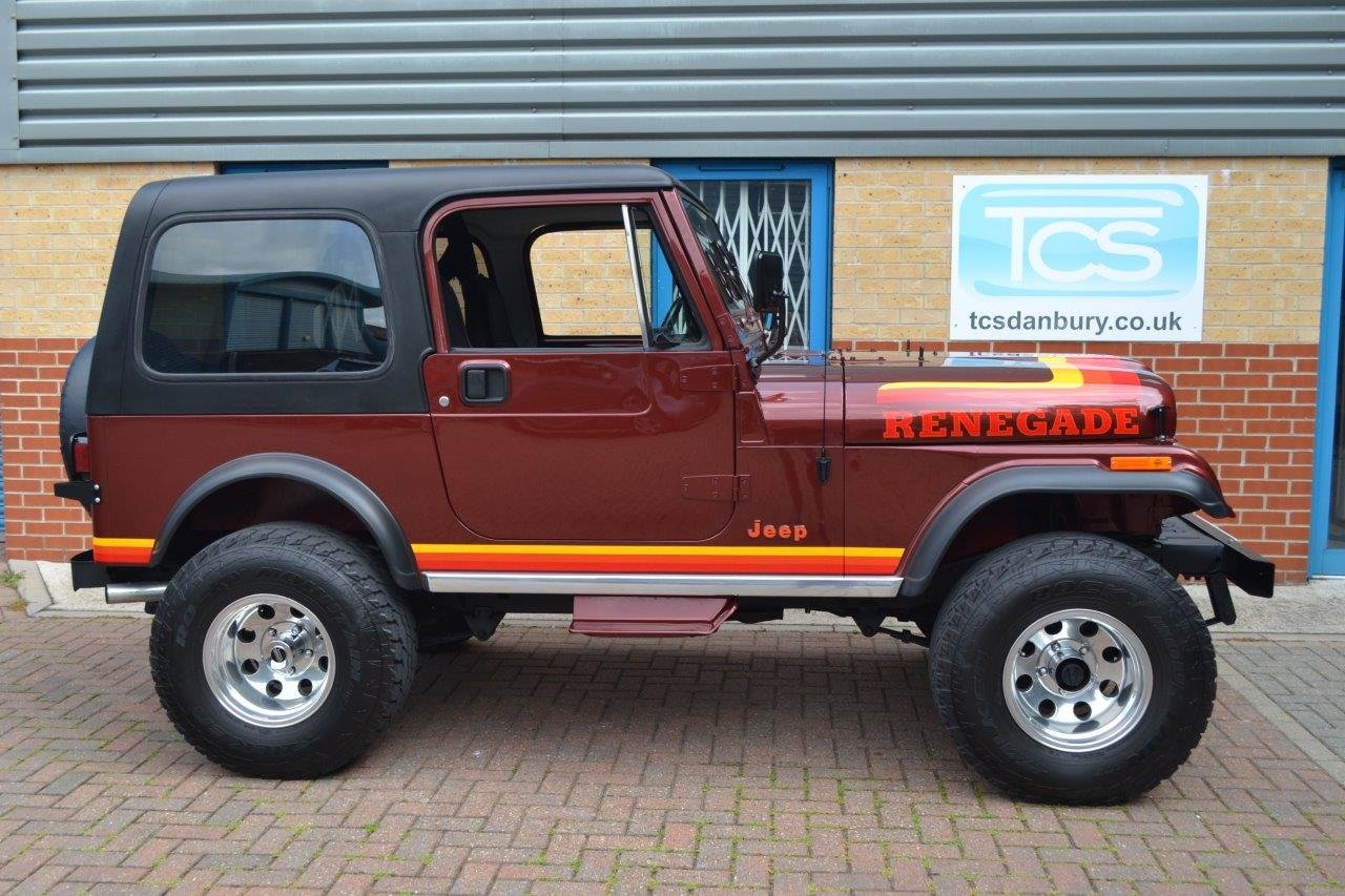 1985 Jeep Renegade CJ-7 5.8i V8 4-Speed Manual Convertible For Sale (picture 3 of 6)