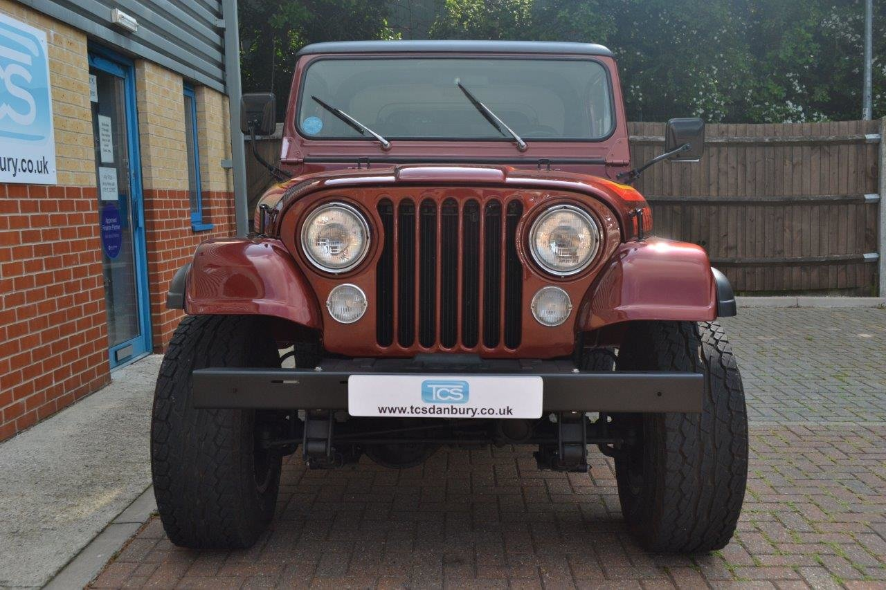 1985 Jeep Renegade CJ-7 5.8i V8 4-Speed Manual Convertible For Sale (picture 4 of 6)