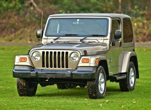 2004 Jeep Wrangler Sahara Automatic 4.0 Litre For Sale