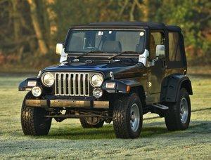2003 Jeep Wrangler Sport Manual.
