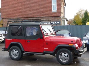 1994 JEEP WRANGLER 2.5 SOFT TOP 4WD - LHD LEFT HAND DRIVE For Sale