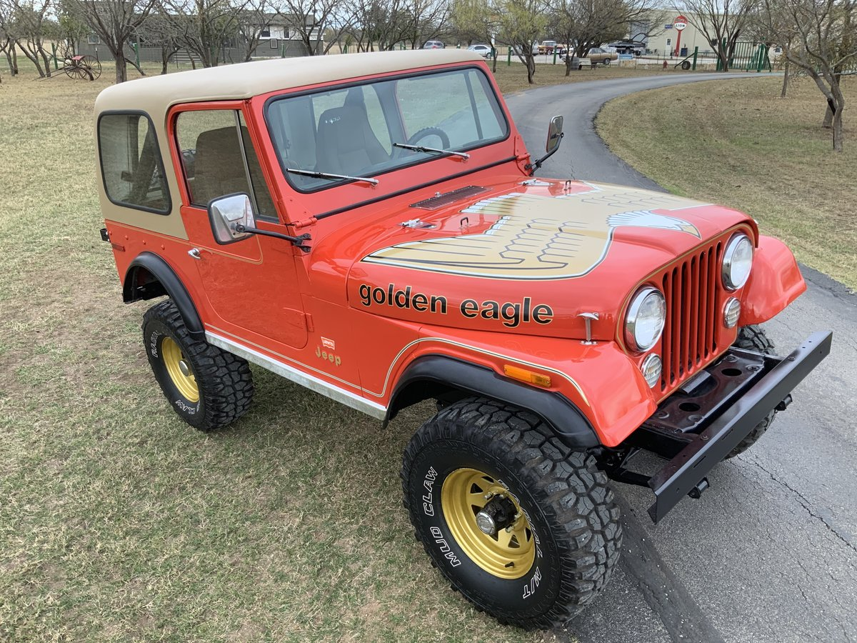 1979 Jeep CJ Levi Golden Eagle Edition 4WD 6Cyl Automatic SOLD (picture 1 of 6)