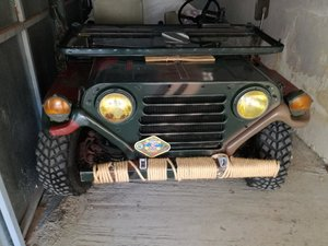 1970 FORD M151A2 MILITARY Jeep