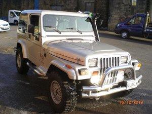 1995 Jeep Wrangler 4 Litre Sahara Ltd Auto For Sale