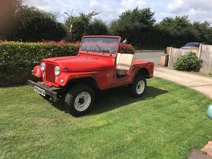 Barn find , low mileage original jeep