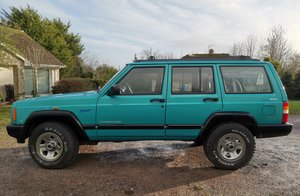 1998 Jeep cherokee xj 2.5 sport