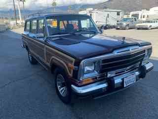 1987 Jeep Grand Wagoneer 4x4 5 Doors SUV Burgundy $19.9k For Sale