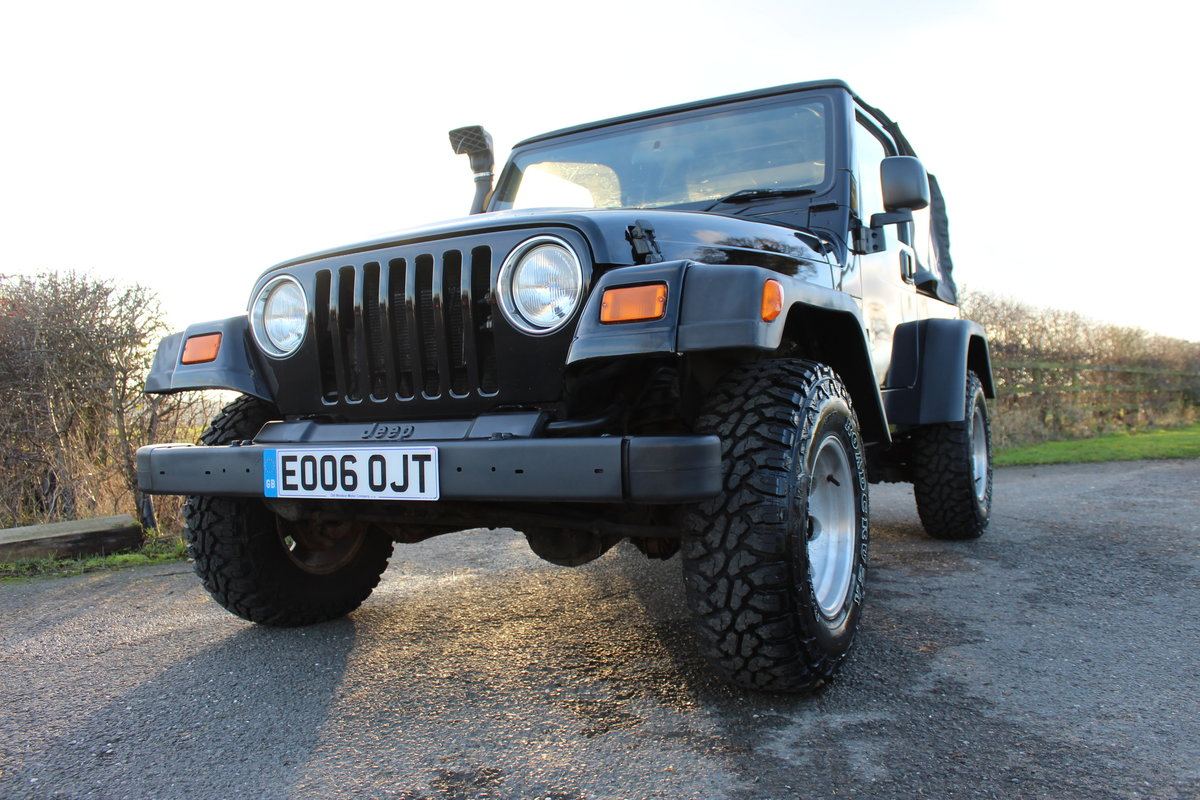 2006 Jeep Wrangler Jamboree Manual Supercharged 4 Litre Sold Car And Classic