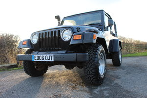 2006 Jeep Wrangler Jamboree Manual , SUPERCHARGED 4 Litre