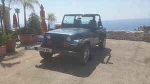1991 Jeep Wrangler one owner from new For Sale (picture 1 of 6)