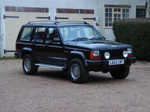 1993 Jeep Cherokee XJ 4 Litre Limited 54000 miles £8000 Spent For Sale