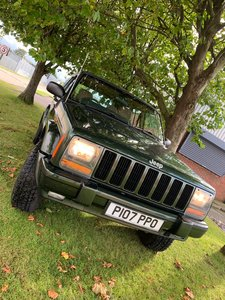 Jeep Cherokee second owner