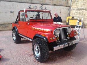 1981  Jeep cj7 Renegade RHD