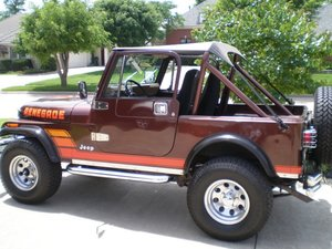 Jeep cj7 project