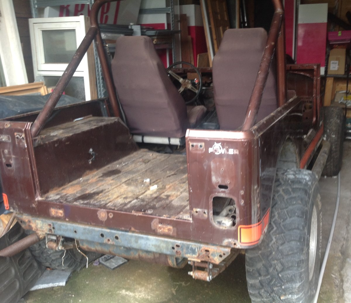 1982 Jeep cj7 project For Sale (picture 3 of 6)