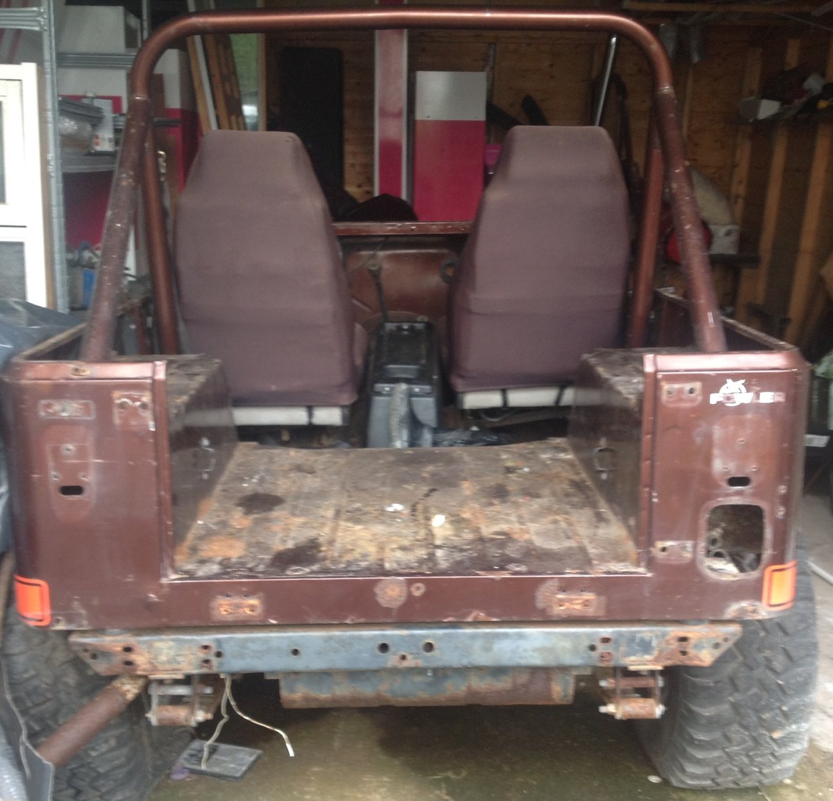 1982 Jeep cj7 project For Sale (picture 6 of 6)
