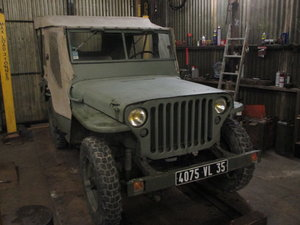 1942 willys jeep m201 For Sale