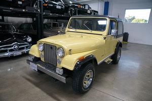 Orig California owner 1984 Jeep CJ7 4.2L 6 cyl  SOLD