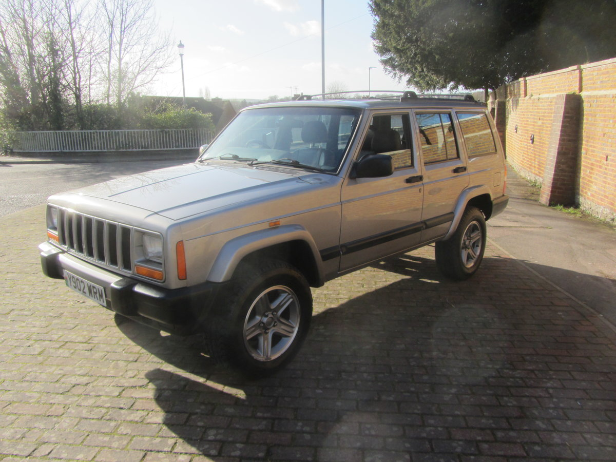 Jeep Cherokee 60th anniversary XJ 2001 Diesel  SOLD (picture 2 of 6)