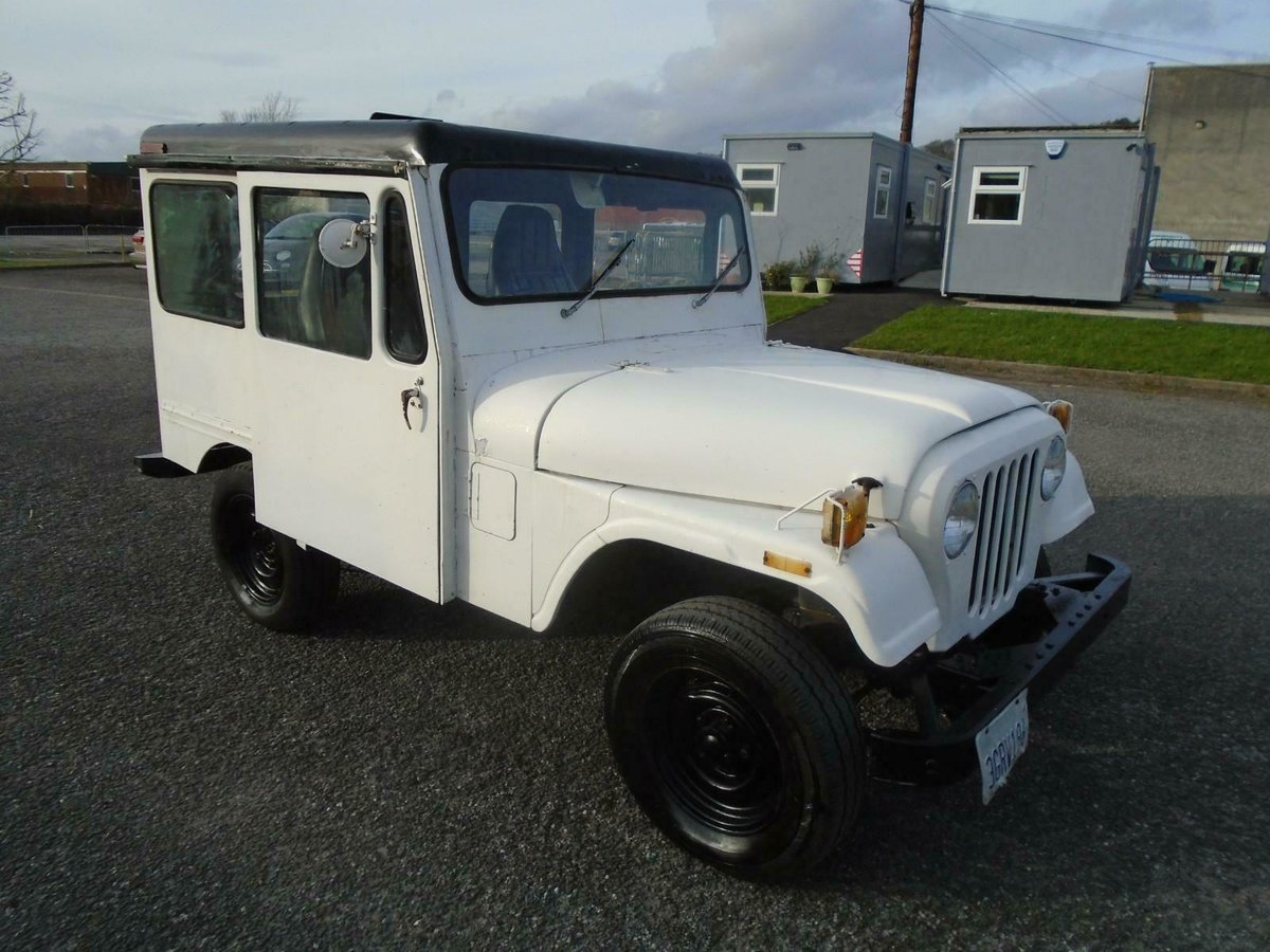 1978 JEEP DJ5 3.8 6 CYL AUTO RHD US MAIL JEEP SOLID CJ5 STYLE For Sale (picture 1 of 6)