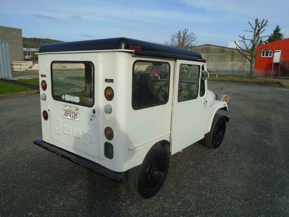 1978 JEEP DJ5 3.8 6 CYL AUTO RHD US MAIL JEEP SOLID CJ5 STYLE For Sale (picture 3 of 6)