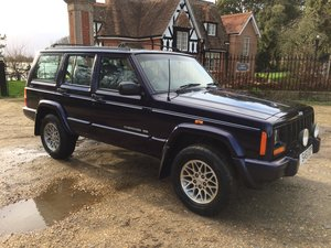 1998 Jeep Cherokee 4.0 Ltd 4x4 Automatic. S reg.