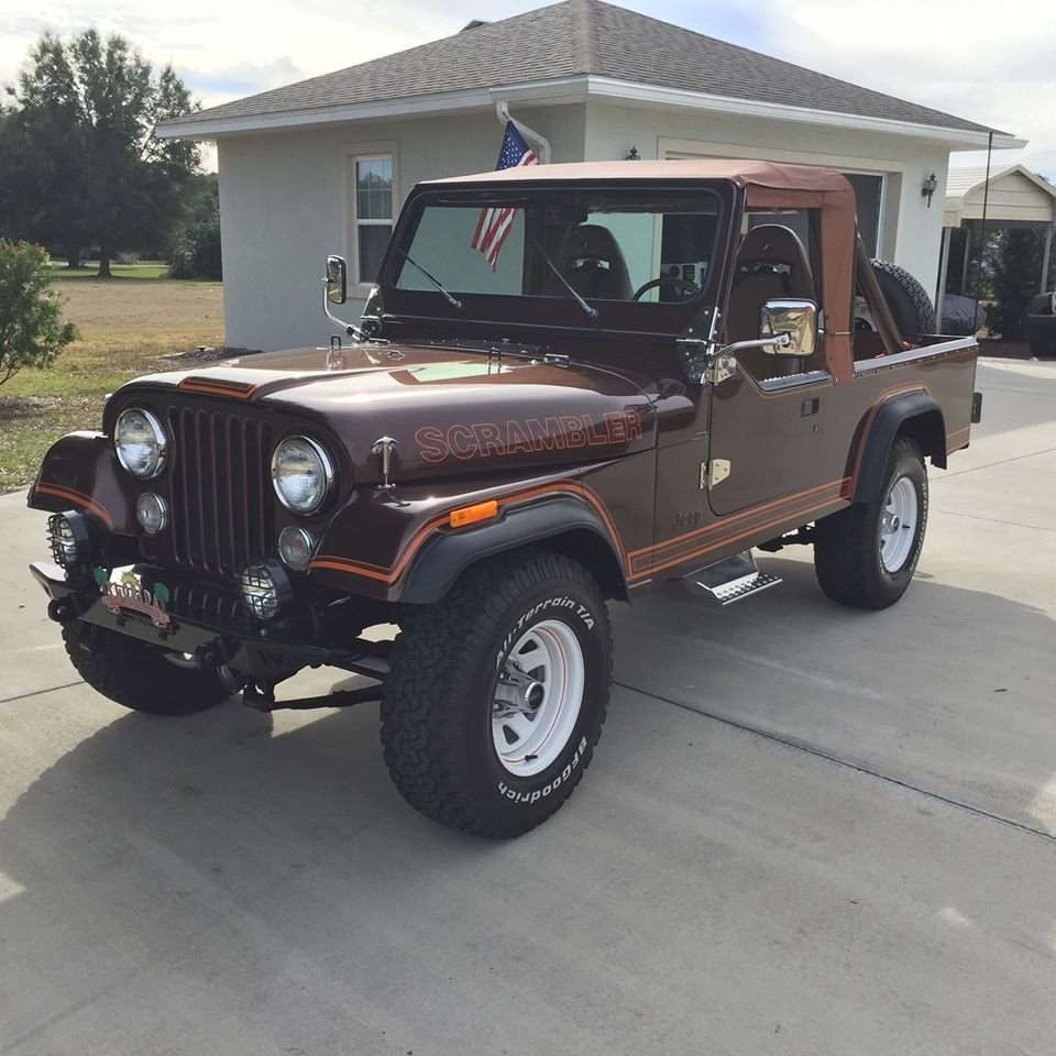 1981 Jeep Scrambler (Sorrento, FL) $24,999 obo For Sale (picture 1 of 6)