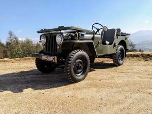 Jeep Willys CJ2A 1947