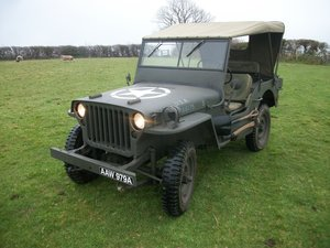 1963 willys french military jeep