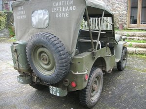 1962 willys jeep french army