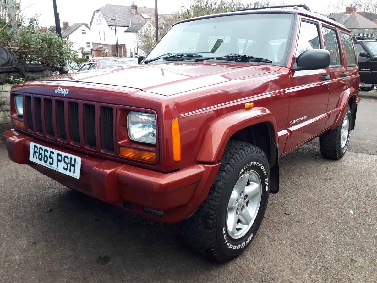 1997 Jeep Cherokee Limited 4.0 Automatic Full Leather For Sale (picture 1 of 6)