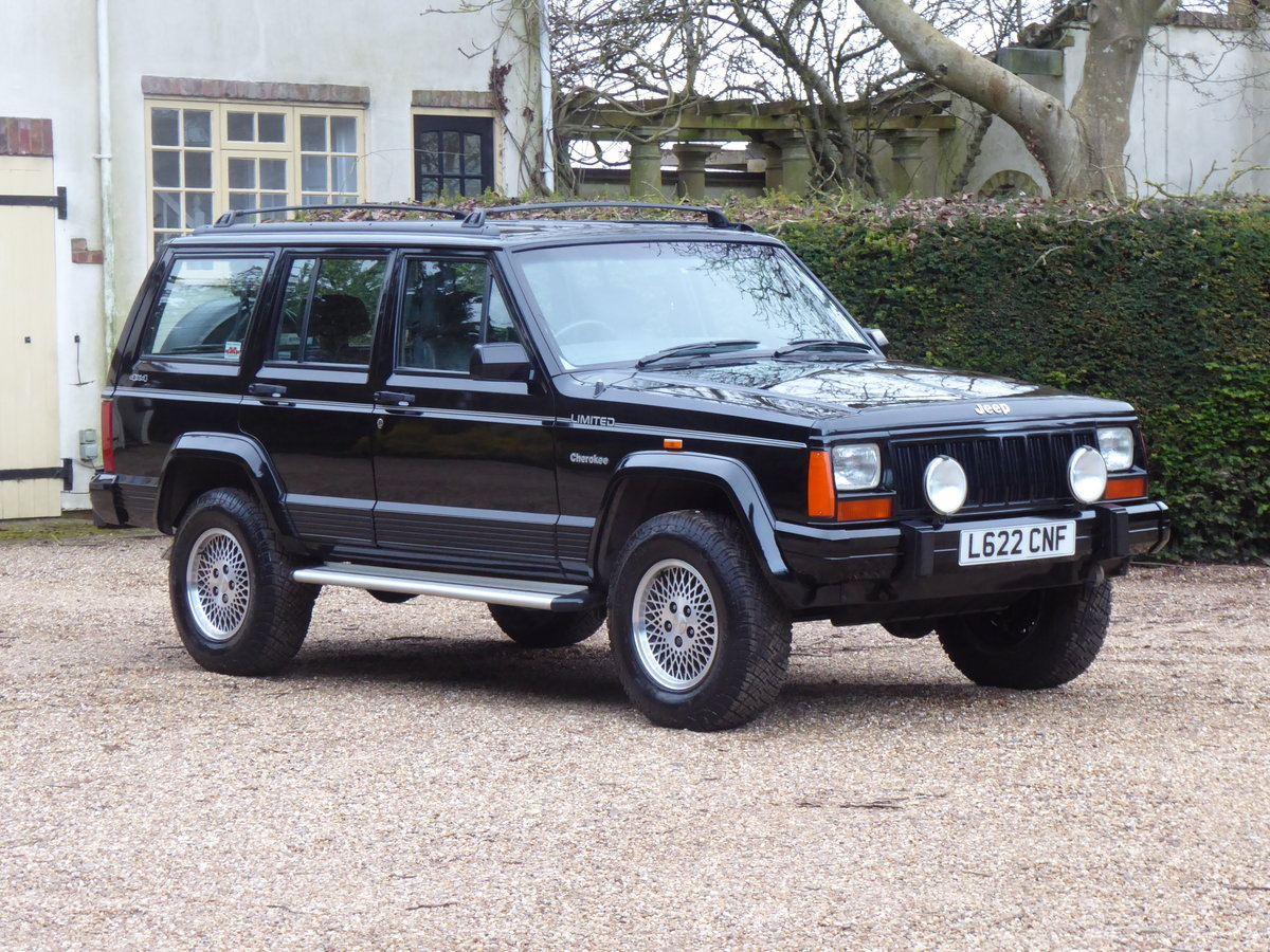 """1993 Jeep Cherokee XJ 4.0 Limited """"Wanted Please"""" For Sale (picture 1 of 6)"""
