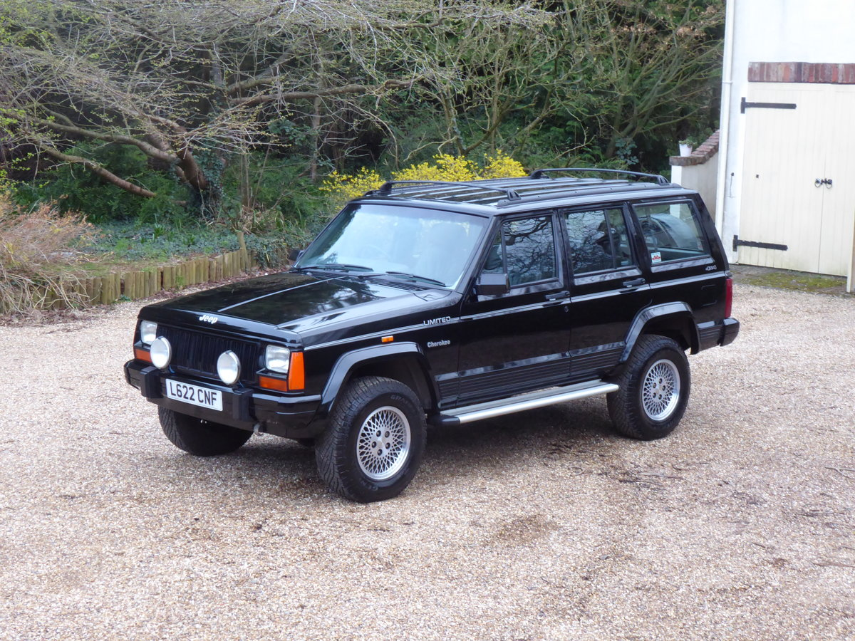 """1993 Jeep Cherokee XJ 4.0 Limited """"Wanted Please"""" For Sale (picture 3 of 6)"""