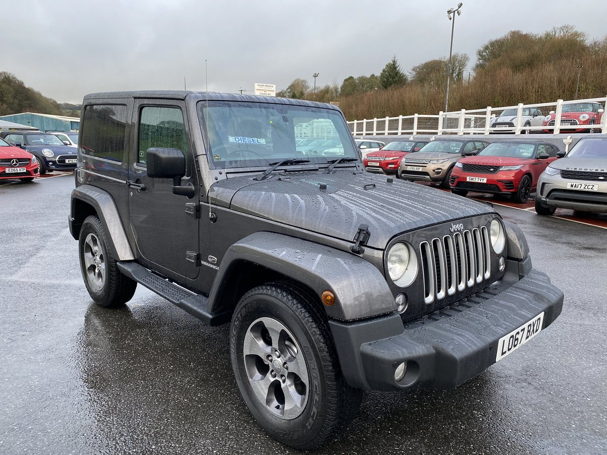 2018 JEEP WRANGLER 2.8 CRD OVERLAND Auto Convertible For Sale (picture 1 of 6)