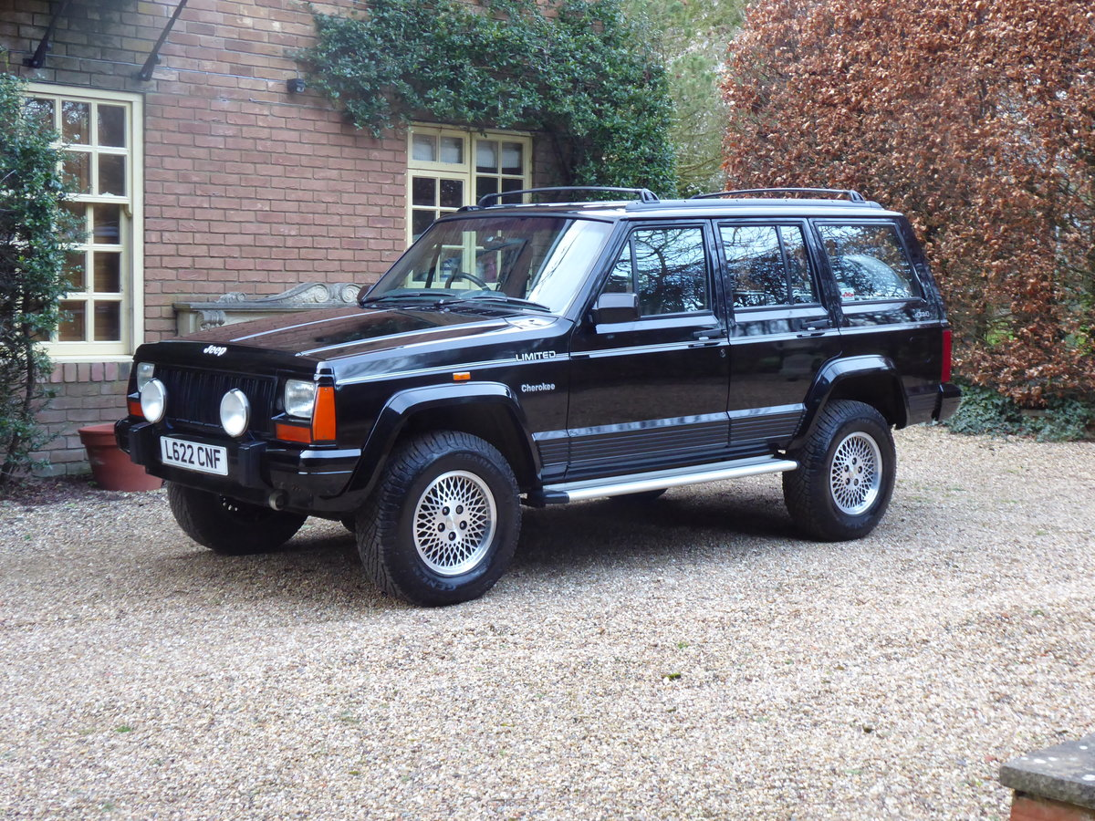 1993 Jeep Cherokee XJ 4.0 Low Mileage SOLD SIMILAR REQUIRED For Sale (picture 1 of 6)