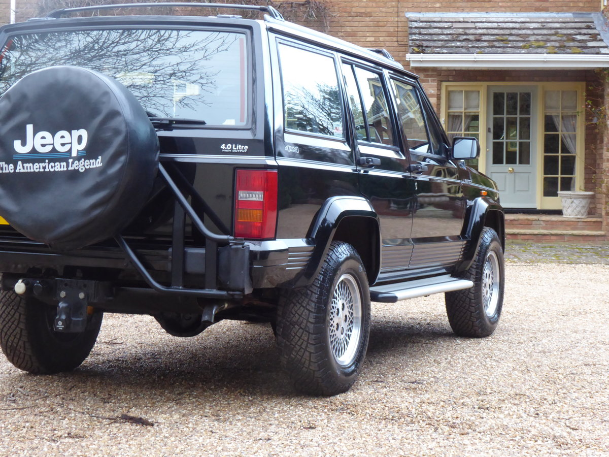 1993 Jeep Cherokee XJ 4.0 Low Mileage SOLD SIMILAR REQUIRED For Sale (picture 3 of 6)