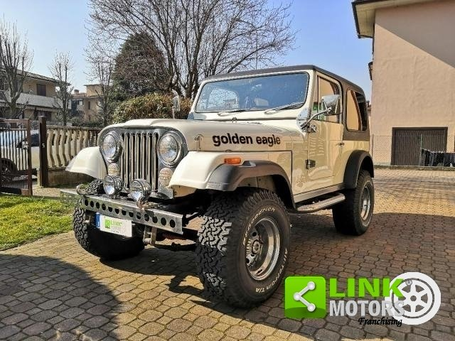 1979 Jeep Cj-7 V8 Golden Eagle For Sale (picture 1 of 6)