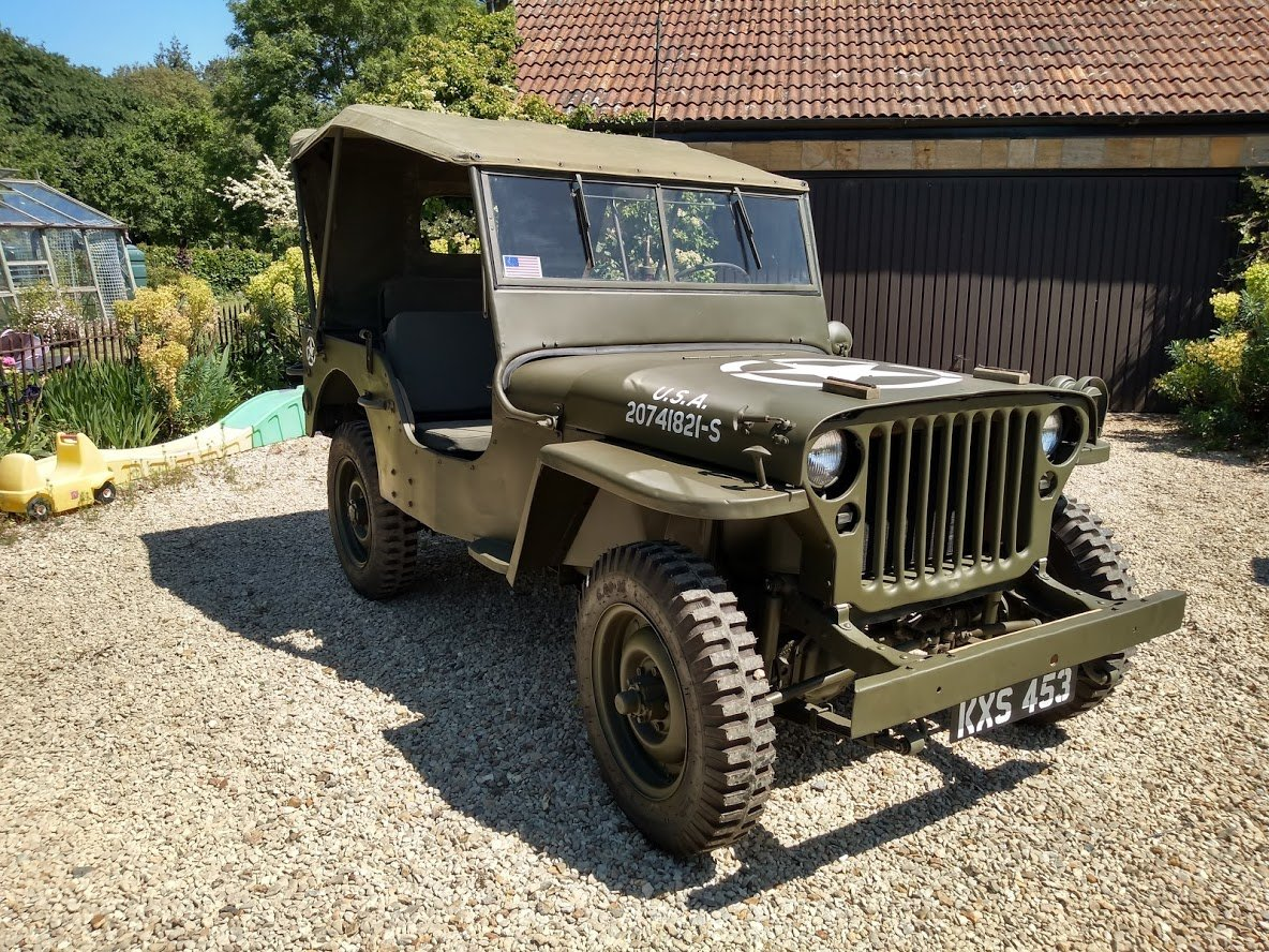 1945 Ford GPW Jeep - Matching Numbers For Sale (picture 1 of 6)