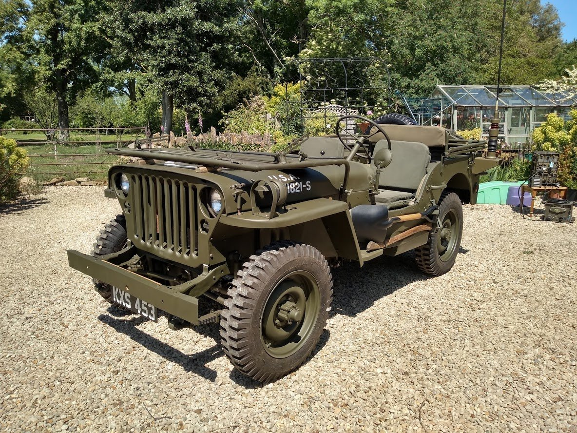 1945 Ford GPW Jeep - Matching Numbers For Sale (picture 2 of 6)