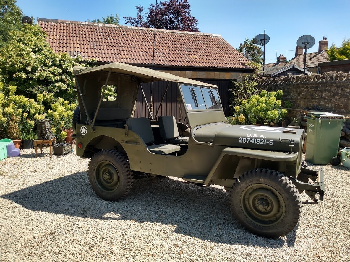 1945 Ford GPW Jeep - Matching Numbers For Sale (picture 3 of 6)