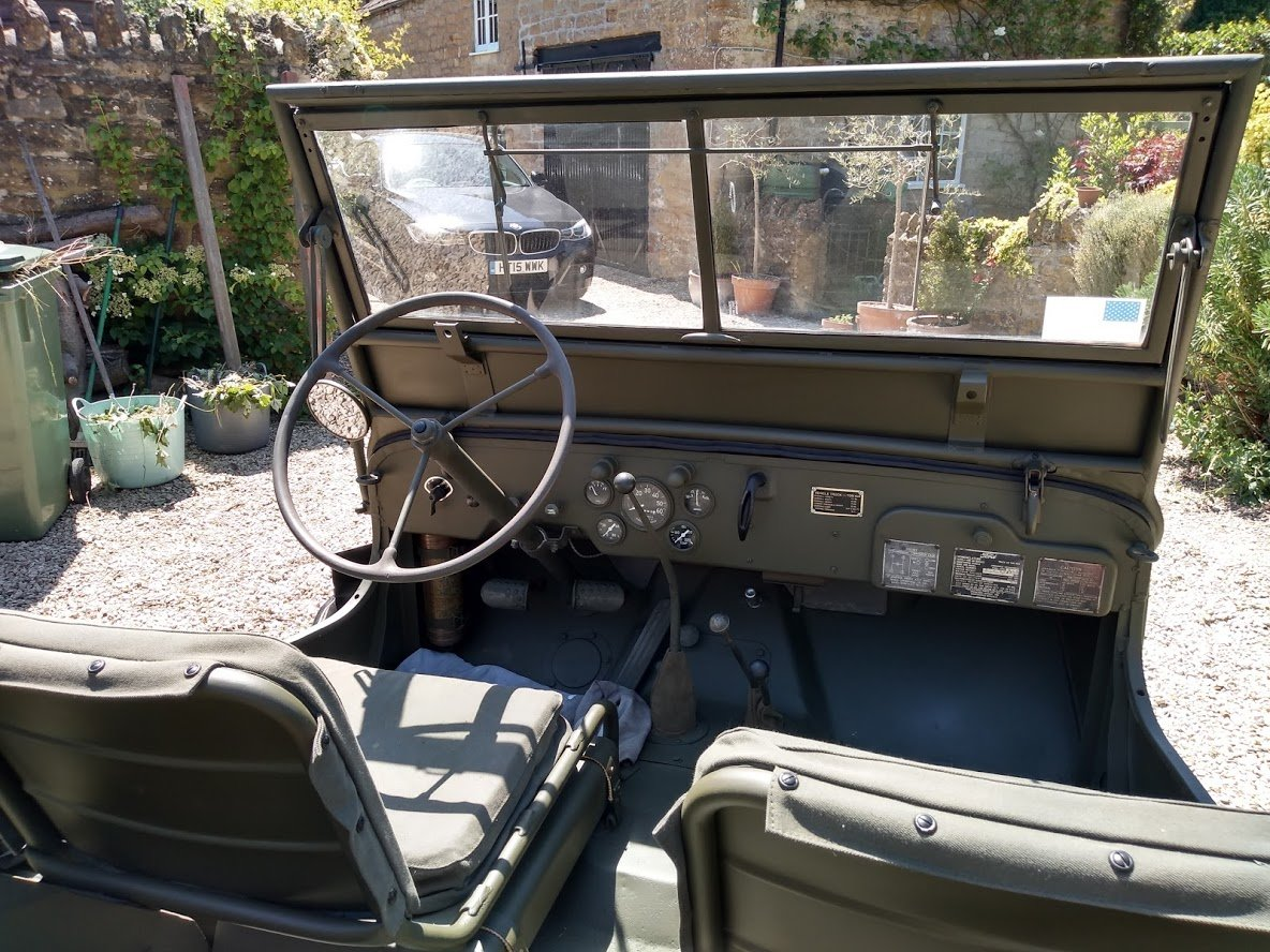 1945 Ford GPW Jeep - Matching Numbers For Sale (picture 4 of 6)